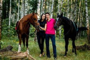 Прогулка на лошадях и Романтический ужин в Казани